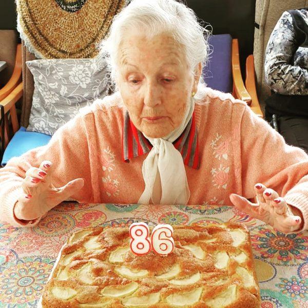 Aniversari a la Llar Roser